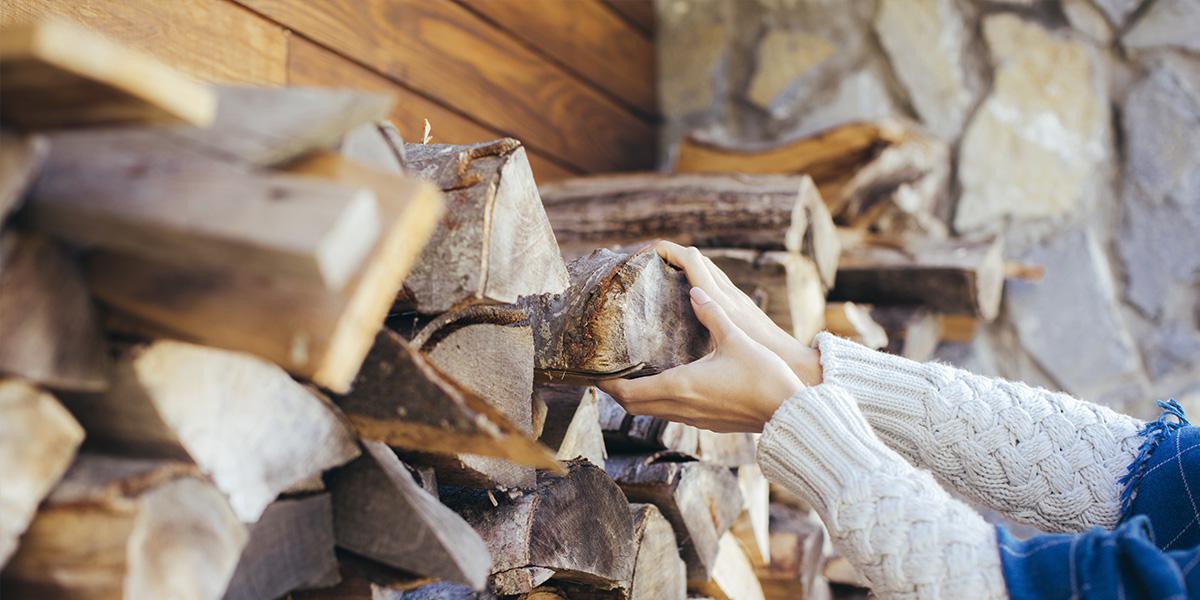 Entreposage & séchage du bois de chauffage